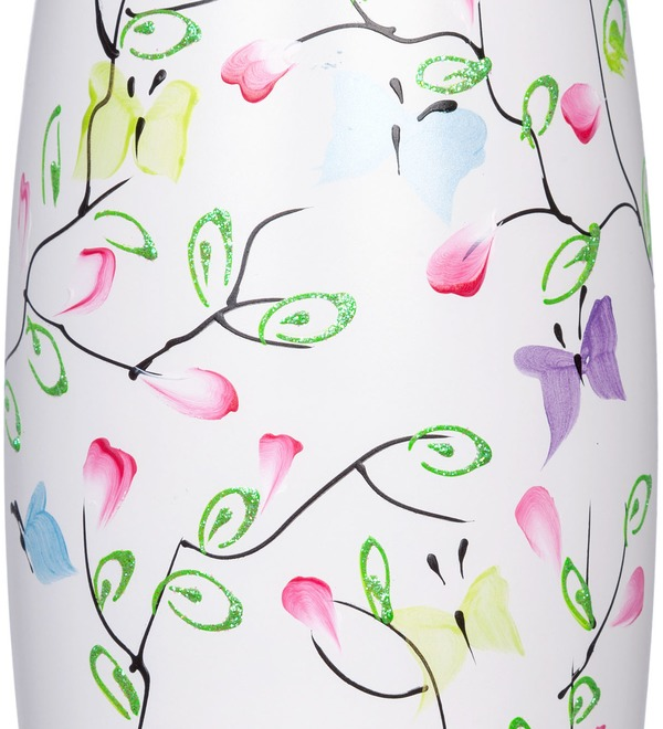 Vase decorated Butterfly – photo #2