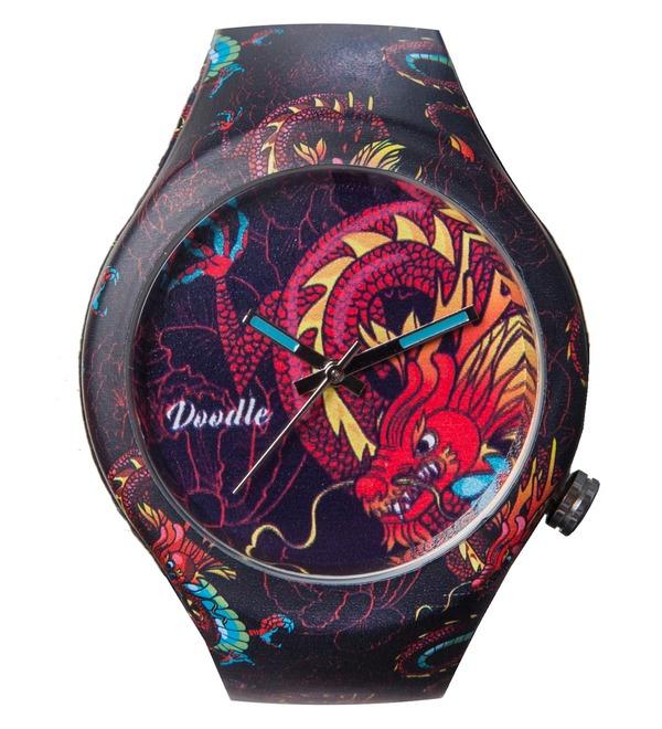 Часы Doodle Дракон – фото № 1
