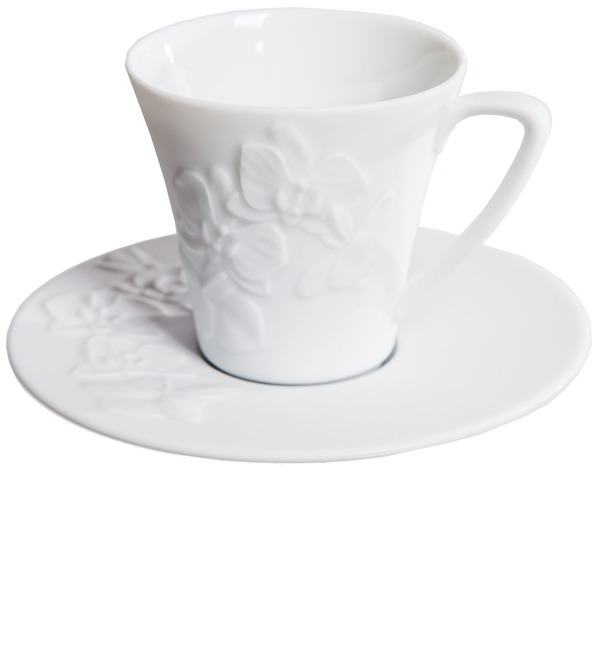 Gift set for coffee Orchids Haviland – photo #2