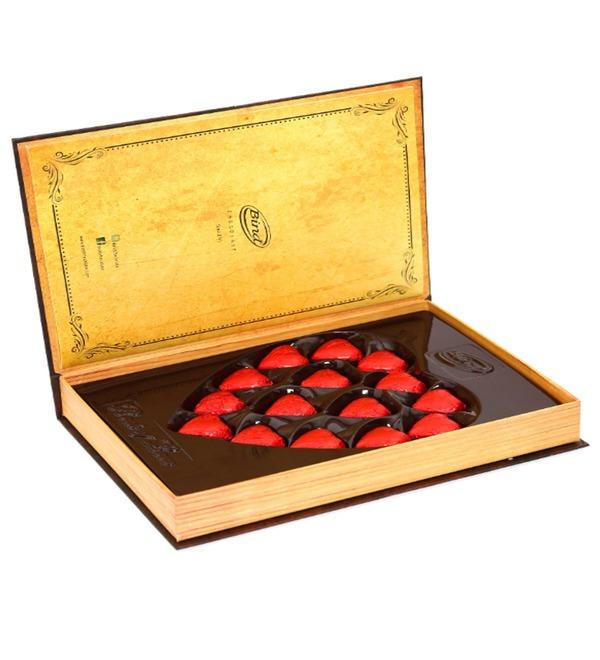 Набор шоколадных конфет Книга любви – фото № 4