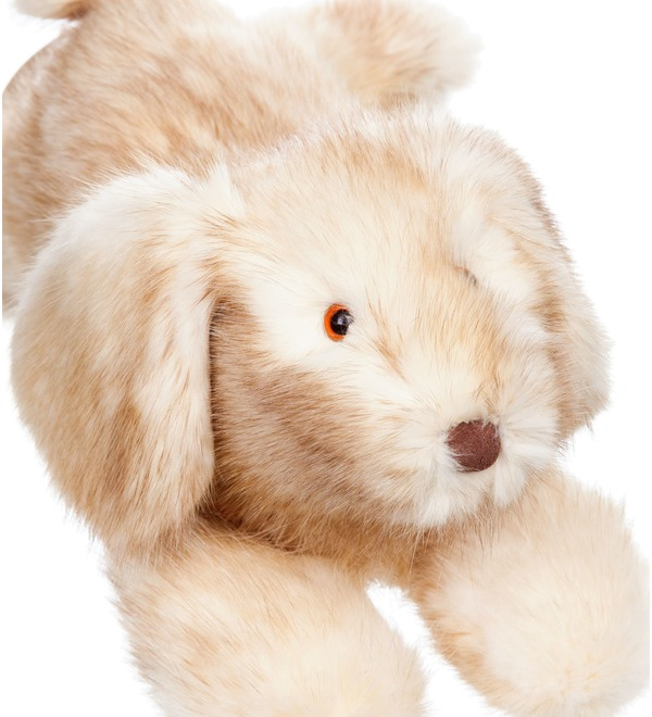 Toy of natural fur Dog – photo #5