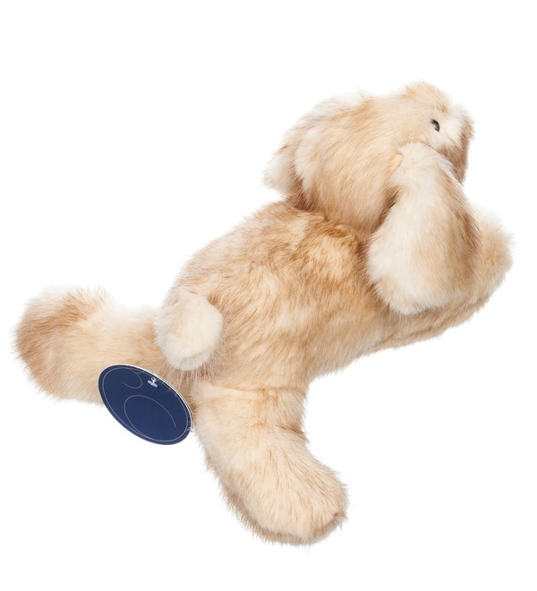Toy of natural fur Dog – photo #3
