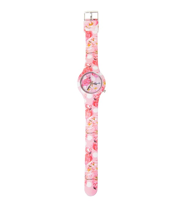 Часы Doodle Фламинго – фото № 3