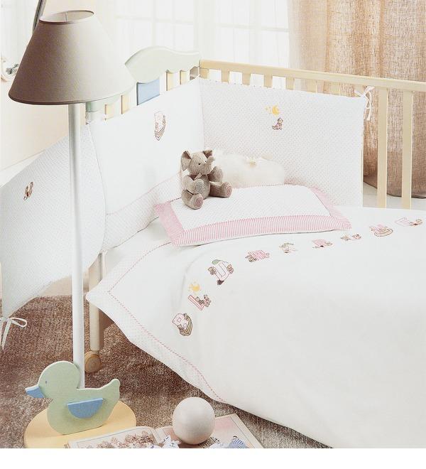 Детский комплект для кроватки Blumarine – фото № 4