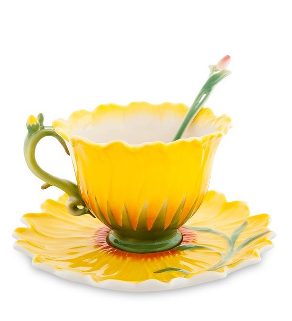 Чайная пара Подсолнух (Pavone) – фото № 1