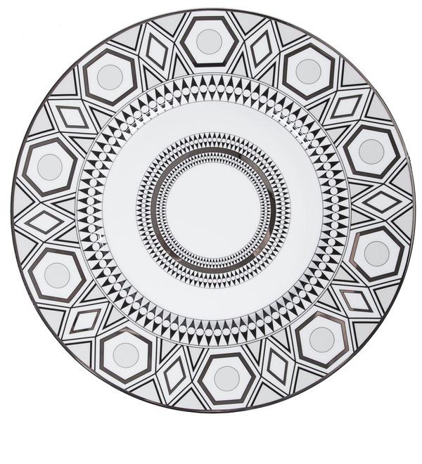Декоративная тарелка Haviland с платиной – фото № 1