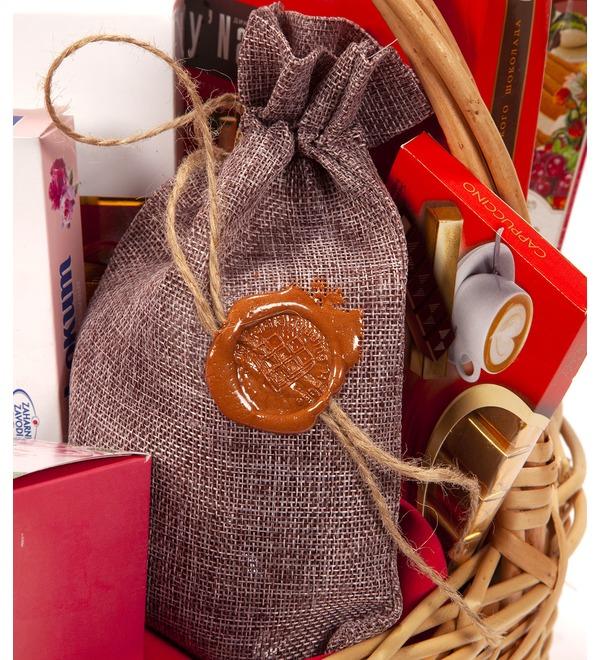 Подарочная корзина Счастье и сладости – фото № 2