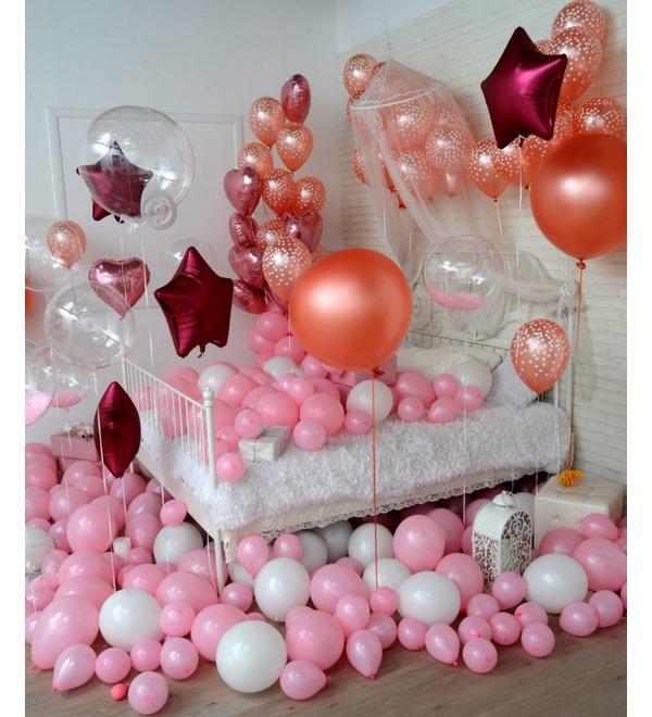 Оформление шарами в стиле Романтика! – фото № 2