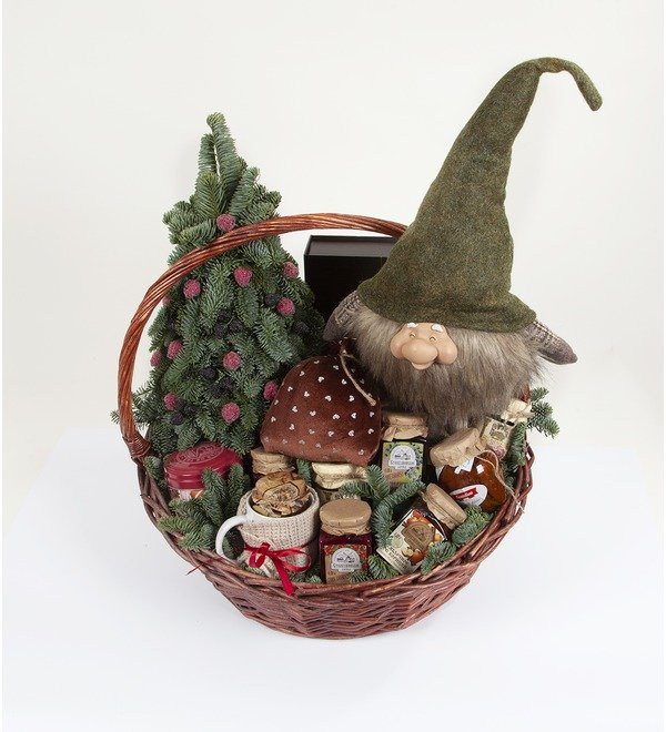 Подарочная корзина Подарки от гномика – фото № 4