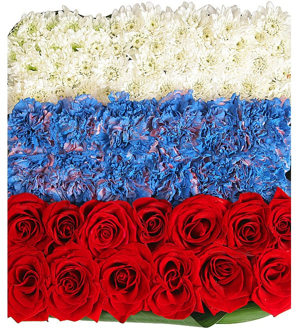 Композиция Флаг России – фото № 1