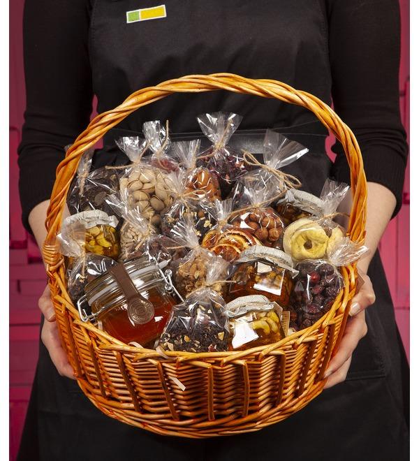 Подарочная корзина Медовые орехи – фото № 1