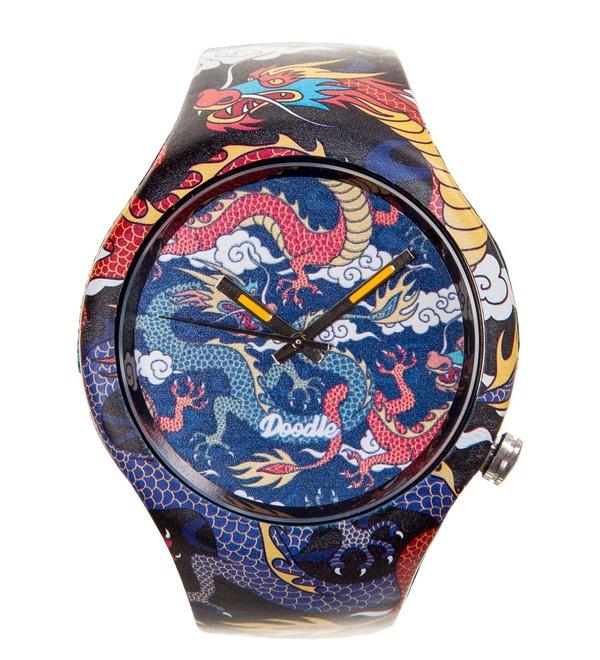 Часы Doodle Рыцарь драконов – фото № 1