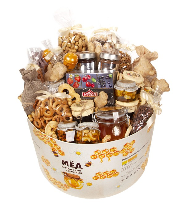Подарочная коробка Бочонок с медом – фото № 4