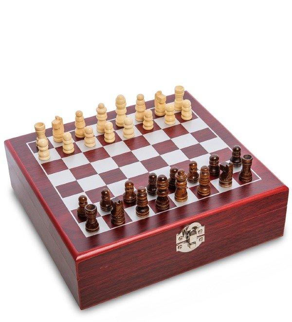 Подарочный набор фляжка 200 мл с шахматами Гроссмейстер – фото № 4
