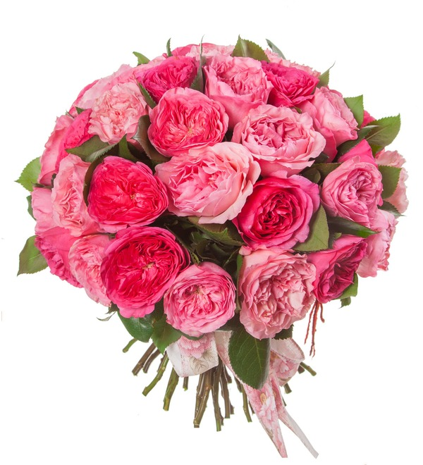 Bouquet of peony roses Splendor (15, 25 or 51) – photo #5
