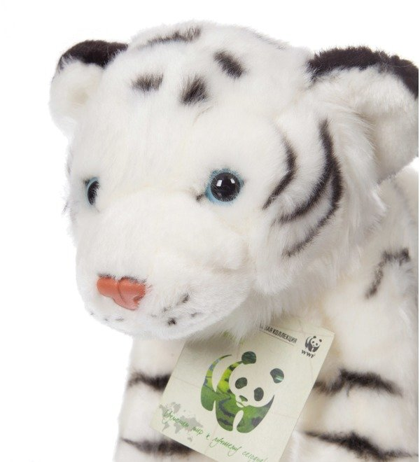 White Tiger WWF soft toy (25 cm) – photo #2