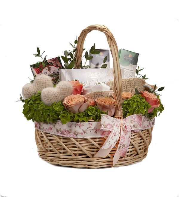 Gift basket Motive of love – photo #4