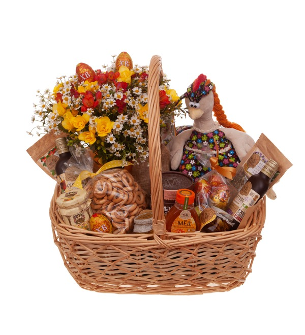 Gift basket Tea with honey – photo #5