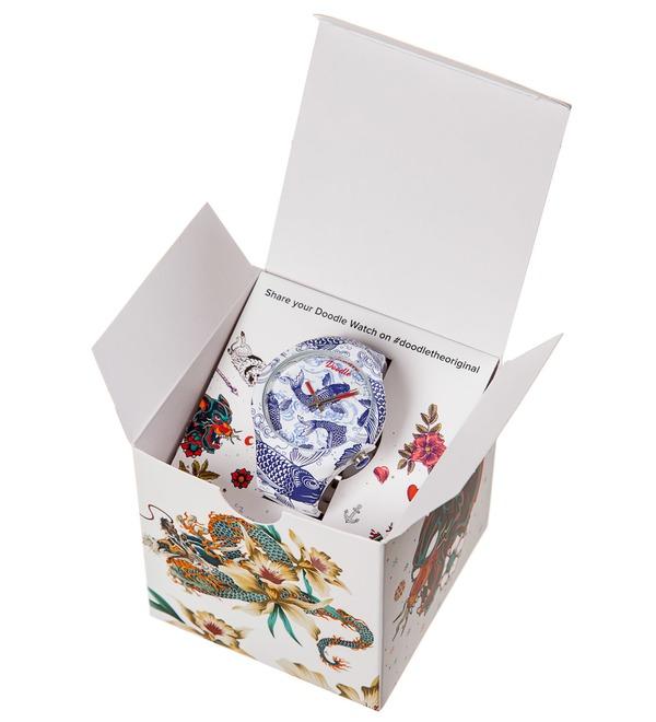 Часы Doodle Карпы – фото № 5