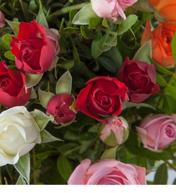 Букет кустовых роз Преображение – фото № 4