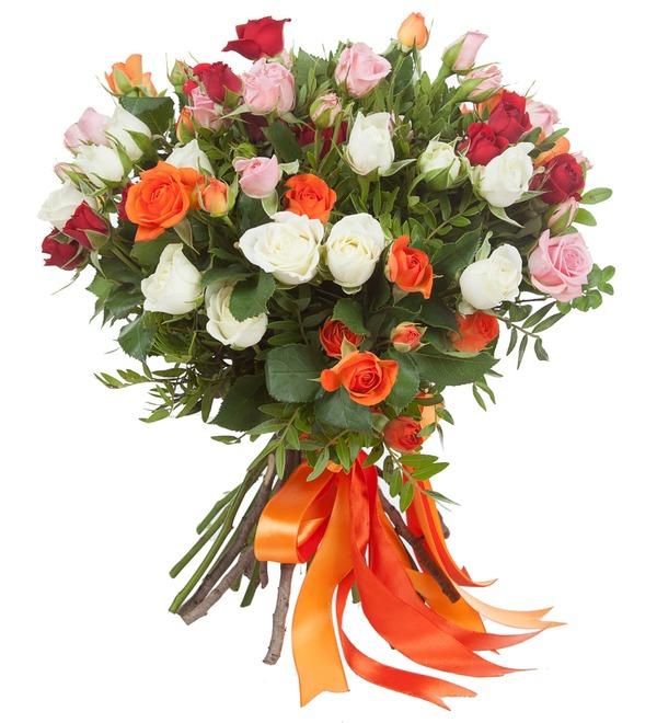 Bouquet of bush roses Transfiguration – photo #2
