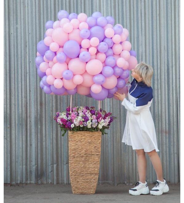 Композиция Воздушный шар – фото № 1