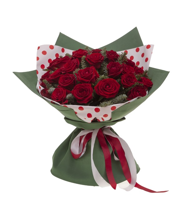 Bouquet-solo roses Grand Prix (15,25,35,51,75 or 101) – photo #4