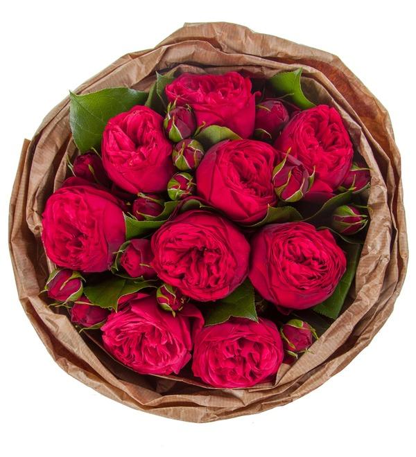 Букет из пионовидных роз Обворожительный – фото № 4