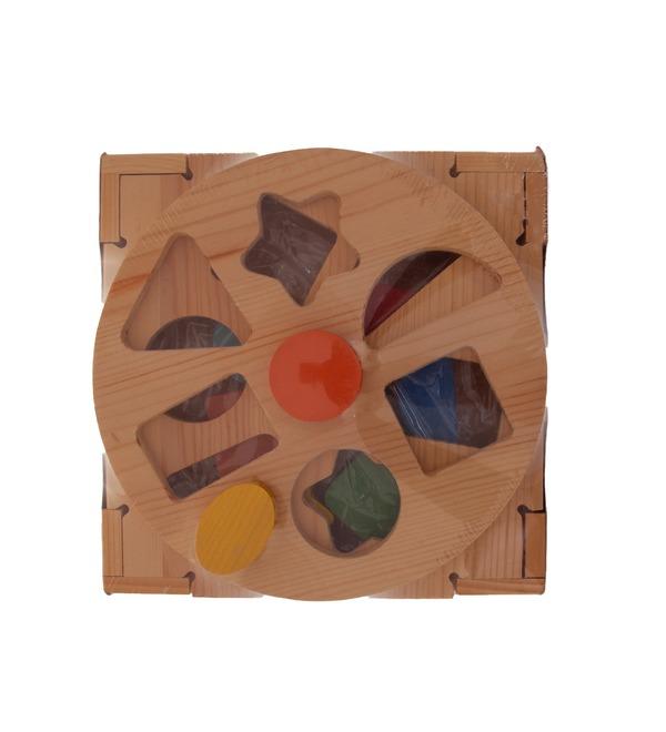 Развивающая деревянная игрушка Сортер – фото № 2