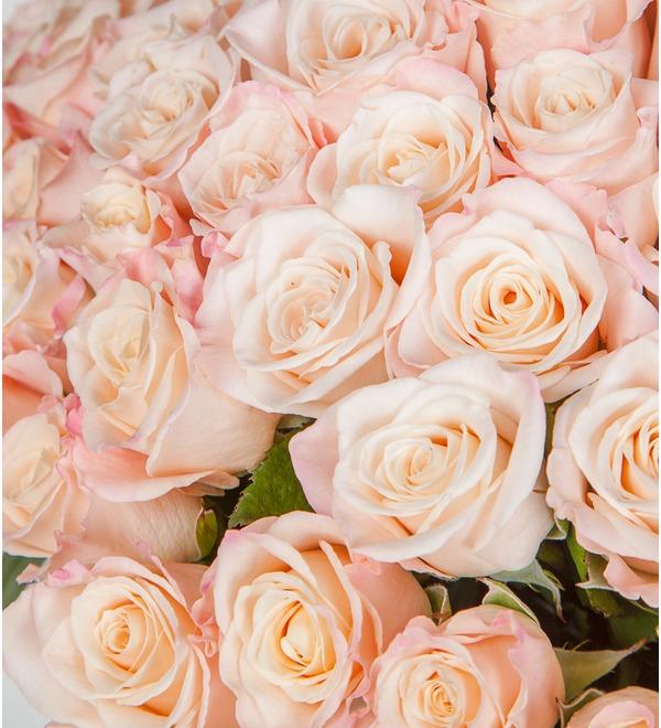 Букет-соло роз Medeo (25,35,51,75 или 101) – фото № 3