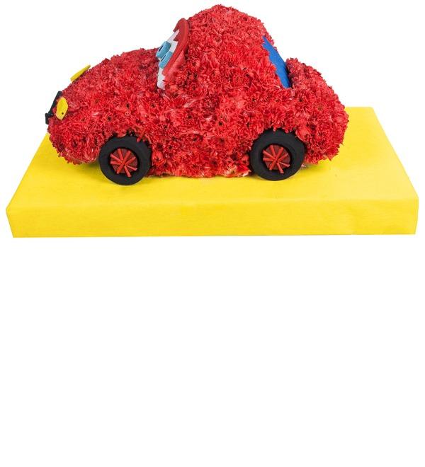 Цветочная игрушка Тачка – фото № 3