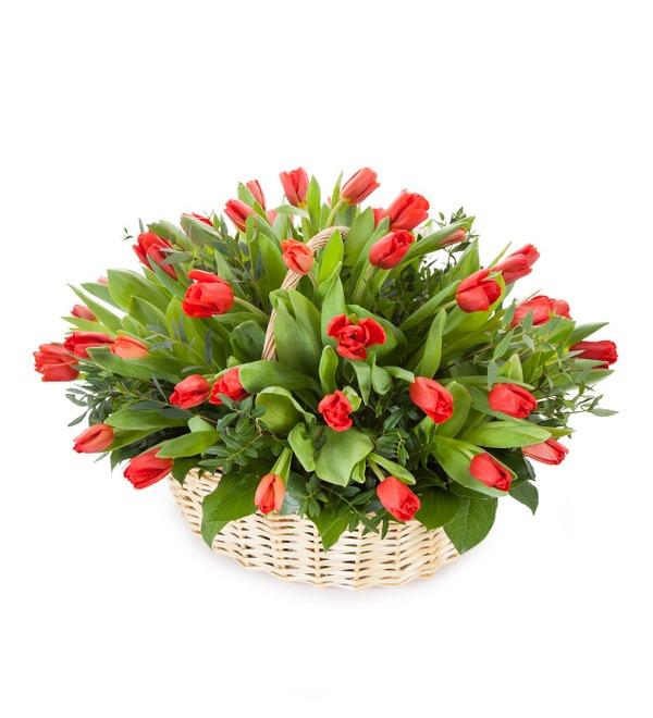 Композиция Красные тюльпаны – фото № 1