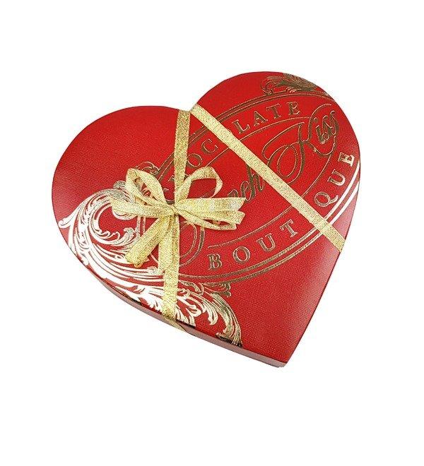 Конфеты ручной работы из бельгийского шоколада Красивая любовь – фото № 2