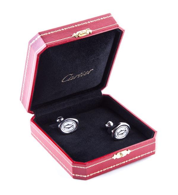 Запонки из серебра Cartier (Франция) – фото № 2