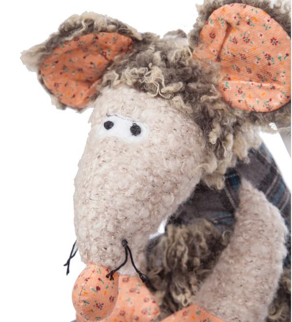 Soft toy Mouse Thomas (27 cm) – photo #2