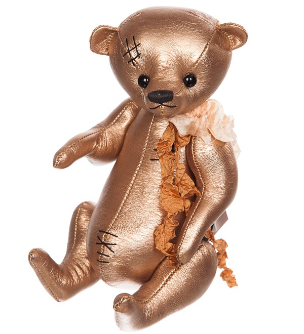 Handmade toy made of eco-leather – photo #3