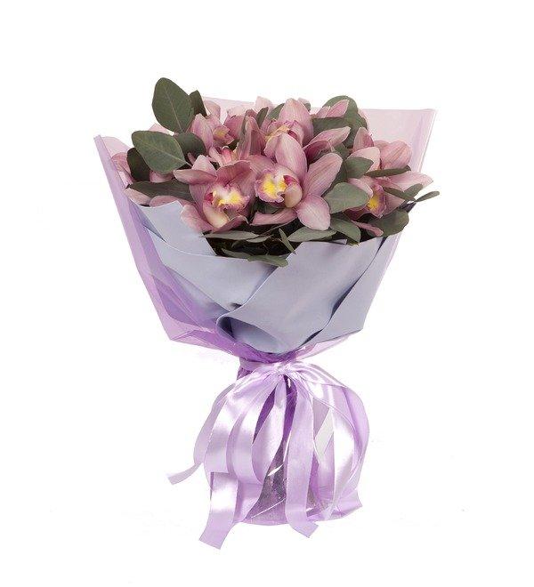Букет-соло Розовые орхидеи (15,25,35,51,75 или 101) – фото № 4