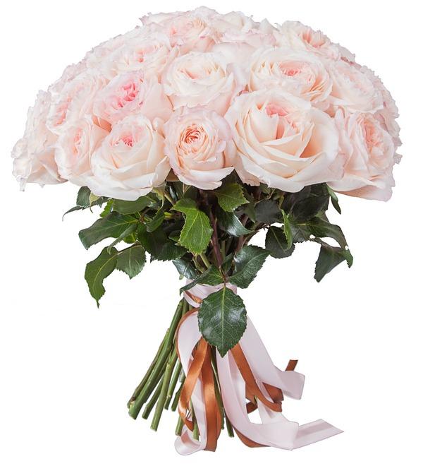 Букет-соло пионовидных роз Mayras Bridal (15,25,35,51,75 или 101) – фото № 5