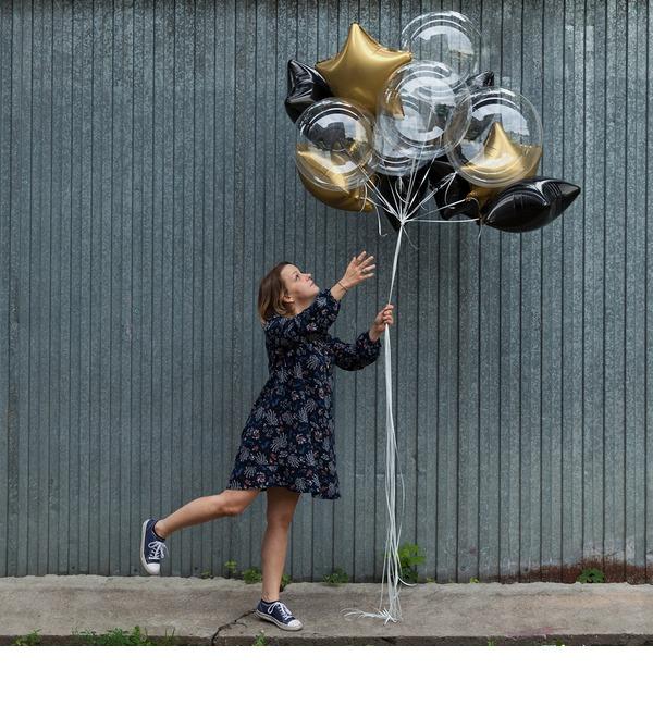 Букет шаров Загадай желание! – фото № 2