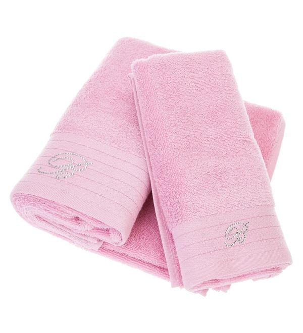 Set of 2 towels Blumarine – photo #4