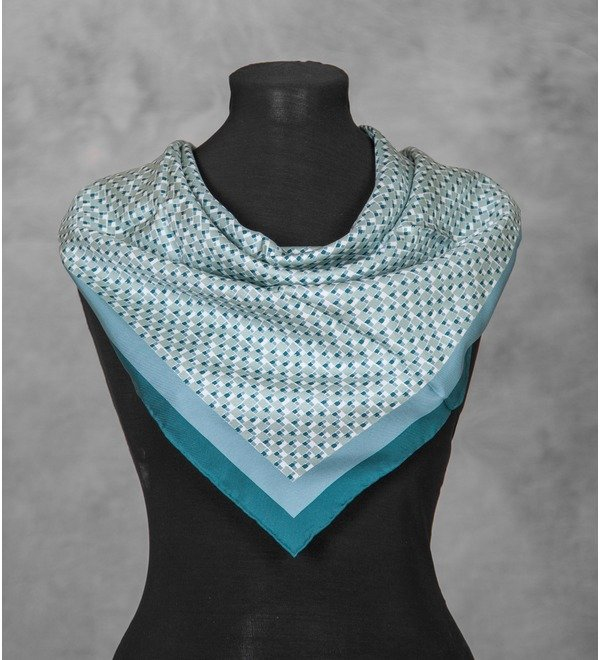 Silk scarf Salvatore Ferragamo (Italy, 70x70 cm) – photo #3