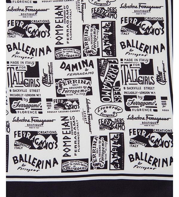 Silk shawl Salvatore Ferragamo (Italy, 50x50 cm) – photo #2