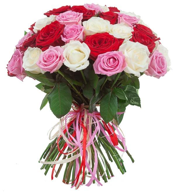 Букет роз Ягодное лето (35, 51 или 101) – фото № 2