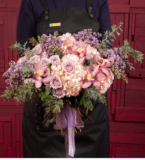 Bouquet-quartet Solfeggio – photo #1