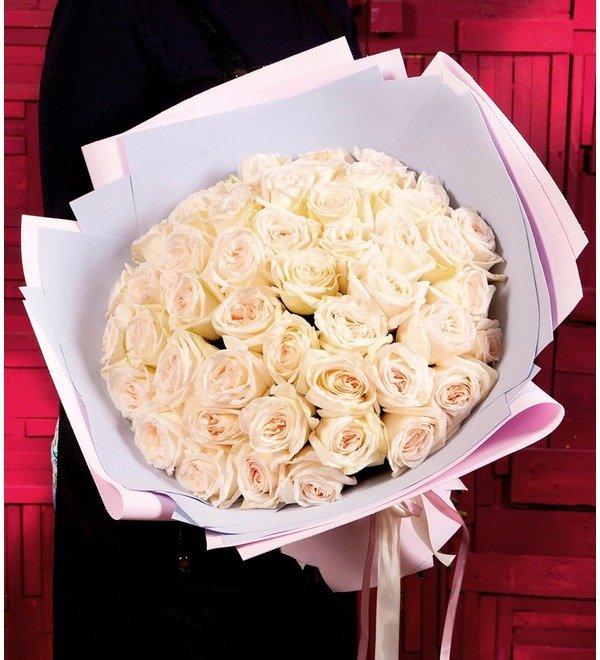 Bouquet-solo White OHara (15,25,51 or 75) – photo #1