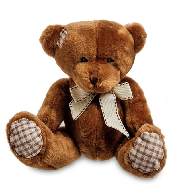Мягкая игрушка Медвежонок (18 см) – фото № 1