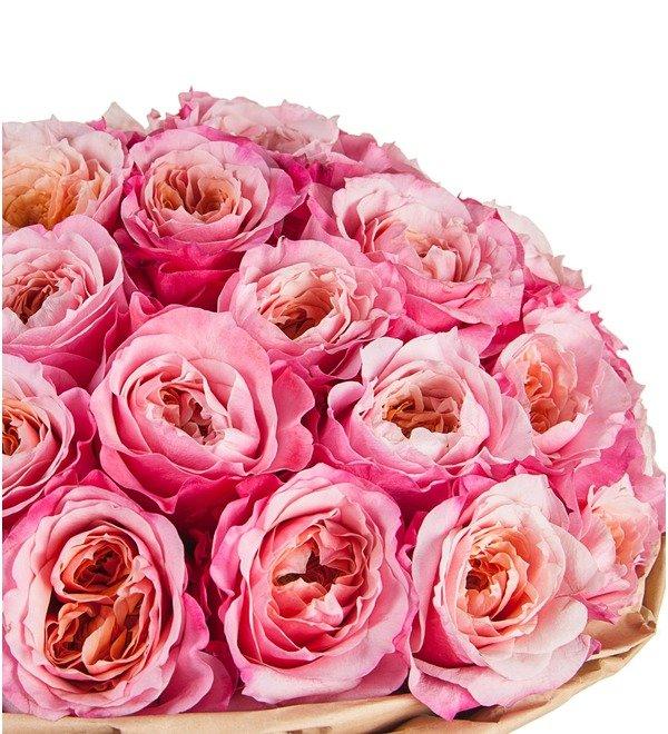 Букет пионовидных роз Miyabi (15, 25 или 51) – фото № 3