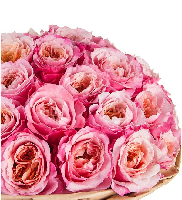 Букет-соло пионовидных роз Miyabi (15,25,35,51,75 или 101) – фото № 3