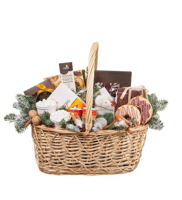 Подарочная корзина Сладкий праздник – фото № 4