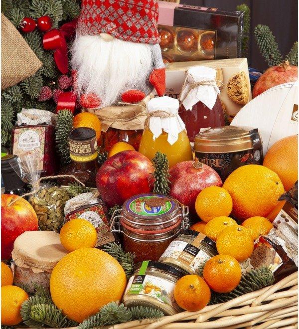Подарочная корзина Новогодний пир – фото № 2